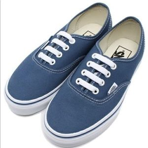New Vans Unisex Authentic Navy USA Limited